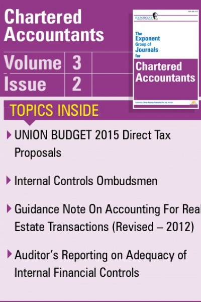 Chartered Accountants – Volume 3 – Issue 2